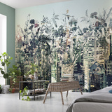 Urban Jungle Wallpaper Mural