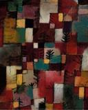 Redgreen and Violet-Yellow Rhythms, 1920 Poster von Paul Klee