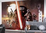 Star Wars - Episode 7 Collage Wandgemälde