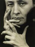 Portrait of Georgia O'Keeffe, 1918 Affiches par Alfred Stieglitz