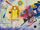 Yellow-Red-Blue, 1925 Poster por Wassily Kandinsky