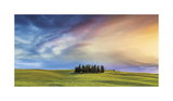 Watercolor Sky Giclee Print by Jim Nilsen