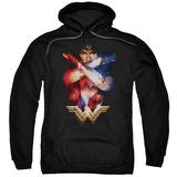 Hoodie: Wonder Woman Movie - Arms Crossed Pullover Hoodie