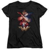 Womens: Wonder Woman Movie - Arms Crossed Shirt
