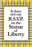 No R.S.V.P. Poster