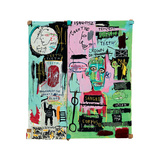 In Italian, 1983 Giclee Print by Jean-Michel Basquiat