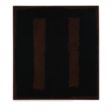 Untitled {Black on Maroon} [Seagram Mural Sketch] Giclée-Druck von Mark Rothko