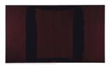Mural, Section 3 {Black on Maroon} [Seagram Mural] Giclée-Druck von Mark Rothko