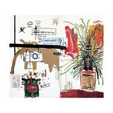 Wicker, 1984 Giclee-trykk av Jean-Michel Basquiat