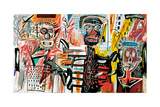 Philistines, 1982 Reproduction procédé giclée par Jean-Michel Basquiat