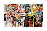 Philistines, 1982 Giclee-trykk av Jean-Michel Basquiat