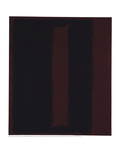 Untitled {Black on Maroon} [Seagram Mural Sketch] Stampa giclée di Mark Rothko