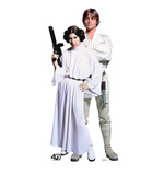 Luke & Leia - Star Wars 40th Anniversary Cardboard Cutouts