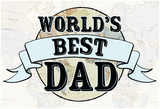 World's Best Dad Pôsteres