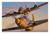 """North American P-51D-25-NA """"Mustang"""" N5428V Prints by Philip Makanna"""