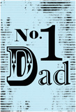 Number 1 Dad Affiches