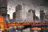 Chicago-elven Posters av Max Kendricks