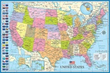 Kort over USA Plakater af Max Kendricks