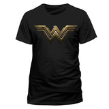 Wonder Woman Movie - Logo Camiseta