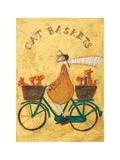 Cat Baskets Prints by Sam Toft