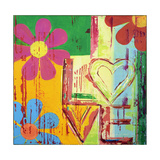 Love in Bloom Reproduction procédé giclée par Ben Bonart