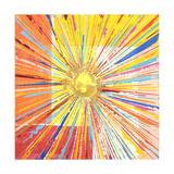 Soleil doré Reproduction procédé giclée par Ben Bonart