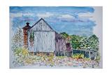 Barn, Sandy Hill Rd, Pa., 2003 Reproduction procédé giclée par Anthony Butera