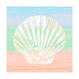 Pastel Coastal 1 Giclée-Premiumdruck von Alonza Saunders
