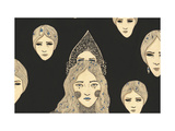Mystery, 2012 Giclee Print by Dariya Hlazatova