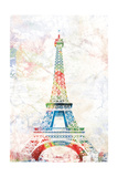 Pop Paris Print by Jace Grey