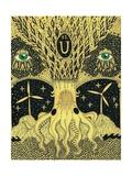 Uranium, 2014 Giclee Print by Dariya Hlazatova