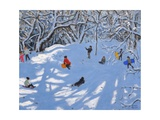 Christmas, Allestree Woods, Derby, 2017 Giclee Print by Andrew Macara