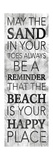 Sand In Your Toes Posters by Jace Grey