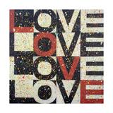 Lot of Love Gicléetryck av Ben Bonart