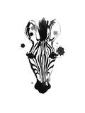 Zebra Splash Stampa di Alicia Zyburt