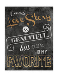 Love Story Premium Giclee Print by Jace Grey