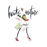 Haute Couture 2 Poster di Alicia Zyburt