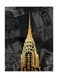 Gold NY Mate Premium Giclee Print by Jace Grey