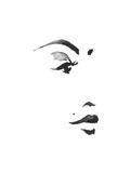 Inked Portrait Stampe di Alicia Zyburt