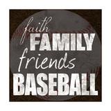 Baseball Friends Posters van Lauren Gibbons