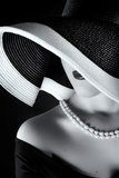 La Femme Au Chapeau Photographic Print by Ruslan Bolgov (Axe)