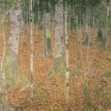 The Birch Wood Impressão giclée por Gustav Klimt