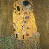 Kysset Giclee-trykk av Gustav Klimt