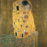 El beso Lámina giclée por Gustav Klimt