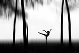 Dancing Photographic Print by Bocah Bocor