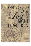 In The Right Direction Poster di Lauren Gibbons