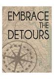 Embrace The Detours Arte di Lauren Gibbons