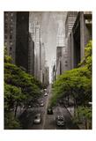 Street Greens Posters por Jace Grey
