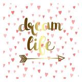 Dream Life Print by Jelena Matic