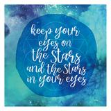 Starry Eyes Arte por Gigi Louise